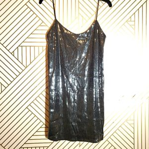 Zara WB Collection Holiday Sequins Dress
